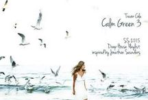 """Inspired SS2015 Calm Green (Artblooms) / Trevor Cole's Deep House """"Calm Green"""" Playlist production inspire sources."""