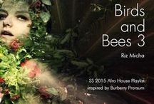 """Inspired SS2015 Birds and Bees (Artblooms) / Riz Micha's Afro House """"Birds and Bees"""" Playlist production inspire sources."""