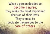 Nurses / Nursing is my second life, I love being a nurse