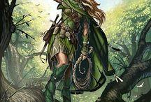 Fantasy✨ / Medieval, ethereal, elvish, fantasy