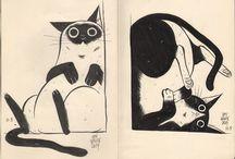 m e o w / Who don't love cats?