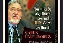 TÜRK ÖZLÜ SÖZLERİ (TURKISH QUOTATIONS)