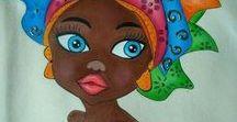 AFRİKA RESİM SANATI (AFRICA PAINTING ART)