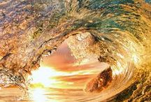 001  ۞ And The Spirit Moved Upon The Face of the Water ۞ / water and air depicting the Holy Spirit as it flowed over the water at the beginning of earth's creation / by Nancy King-Badran