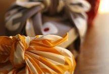 Wrapping with Furoshiki / Furoshiki ~ Japanese eco-friendly wrapping cloths