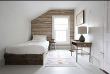 I WOOD BEDROOM I / Lovely bedroom decors made of wood.  #wood #wooden #bed #bedroom