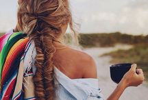 Hair inspiration / Cool hair colours & styles