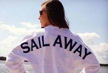 Sailing / / Salt air /