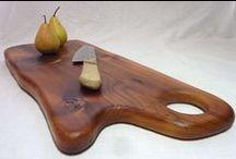 I WOOD CUTTING BOARDS I / #wood #cutting boards and #wooden bread #boards.
