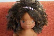 Dollysangel - My pretty dolls  -  Natural fiber Art doll / Le bamboline di Jo