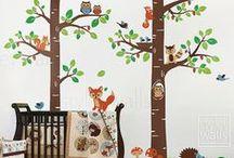 Baby Room - woodland theme