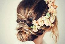 * Boho Hair & Make up wedding style  Mimètik bcn / Hair and make-up inspiration for different occassions xx www.mimetikbcn.com