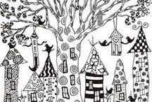 Dibujos Zentangle