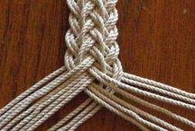 Trenzas y nudos / Distinto tipos de trenzas y nudos