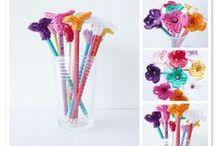 Para lápices / adornos para lápices