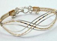 14K Gold Bracelets for Skinny Wrists / 14K gold and gold filled bracelets for dainty wrists
