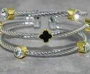 Silver Fashion Bracelets for Skinny Wrists / Silver fashion bracelets for ladies with thin wrists.
