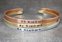 Engraved Bracelets for Skinny Wrists / Personalized and engraved bracelets for small wristed women