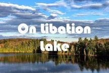 On Libation Lake / Photos take on and around our lake in The Secret Land of Is