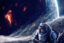 Mass Effect and i love Garrus Vakarian / My favorite character from mass effect series Garrus Vakarian