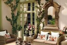 Outdoor Living / Eating, lounging, relaxing in the fresh air.