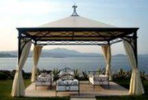 Gazebos and Pergolas / Elegant and calm outdoor living - under roof.
