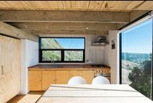 Living / Living area in tiny houses