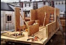 Framing / Tiny house wall framing ideas
