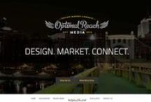 Website Designs / This board shows the clean, modern designs created by Optimal Reach Media.
