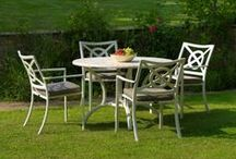 Garden furniture / A selection of Oxley's elegant outdoor furniture with prices.