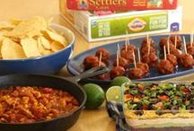 Party Food ~ Gluten Free / You name the Party and We got the Food from #glutenfree Appetizers to BBQ, Finger Food to Chili's and Cornbead.  We got the food! Gluten Free Mama - GF & AF Food Network