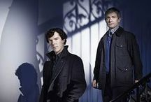 "SHERLOCK / ""Listen, what I said before John, I meant it. I don't have friends; I've just got one.""  Sherlock"
