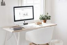workaholic / Desks and organized spaces