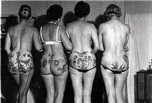 Historical tattoo photos / Historische foto's van mensen met tatoeages
