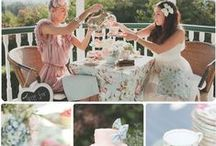 Antique Garden Party / Fun ideas to assist in creating a delightful vintage garden party.  Great for showers and wedding themes