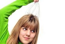 Head and Scalp Massage Tools / Head and scalp massagers from Body Back Company help relieve headaches and overall tension.