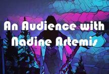 An Audience With Nadine Artemis / Videos, tutorials, articles, all featuring Nadine Artemis, founder of Living Libations