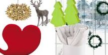 The beauty of Christmas / A winter selection of furniture and complements we suggest you for a warm Christmas!