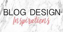 BLOG DESIGN ▲ inspiration, graphismes, idées & conseils pour customiser votre blog / Tableau d'inspirations, idées et conseils pour customiser son blog : tutoriel blog, wordpress, blogger, templates, bannière, header, graphismes blog