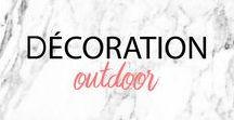DECO OUTDOOR - DECO EXTERIEURE - inspiration, decoration / Decoration extérieure, inspiration d'aménagement, piscine, terrasse, salon d'extérieur - outdoor decoration, inspirational idea, furniture, pool, garden