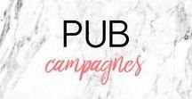 PUB CAMPAGNES ▲ AD CAMPAIGN : idées, inspirations, créatives / Les plus créatives des campagnes publicitaires ▲ Creative ad campings