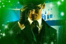 EDWARD NYGMA/ THE RIDDLER/  CORY MICHAEL SMITH / What's nowhere but everywhere, except where something is?
