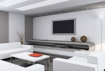 Minimal Black & White Media Rooms / A Collection of luxury , black & white , mininal, home cinemas, playrooms  & media rooms.