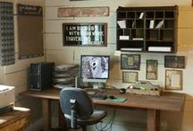Home - Office Ideas / Inspiration for that home office design you have been dreaming about.