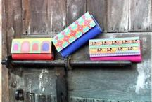 Ladies Wallets / 3 Fold Wallets and Zipper Wallets exclusively designed by The Elephant Company