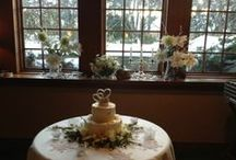 Winter Weddings / A winter wedding can be warm and lovely. We can create an experience that celebrates the season, and your love! / by The Settlers Inn