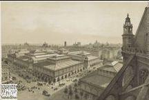 Les Halles, XIXe siècle / Iconographie du centre de Paris et plus particulièrement des Halles, du quartier Montorgueil, du Châtelet.