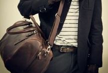 Bags / maybe it's the leather and canvas, or maybe it's the implied promise of travel?