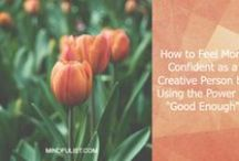 Growing your Creativity / How to become more creative!