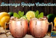 Beverage Recipe collection / A collection of drink recipes from our followers.  If you would like to be added to the board and contribute your own recipes just drop me a message